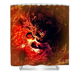 Do You See What I See Shower Curtain by Blair Stuart