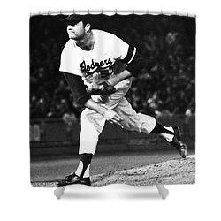 Don Drysdale (1936-1993) Shower Curtain by Granger