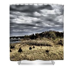 Dramatic Landscape At Elizabeth Morton Shower Curtain