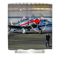 Dreadnought Startup Shower Curtain