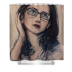 Dreaming With Open Eyes Shower Curtain