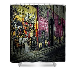 Shower Curtain featuring the photograph Dreamscape by Wayne Sherriff