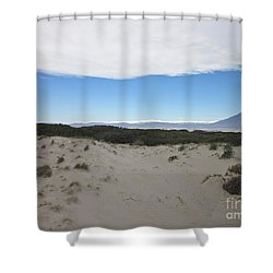 Dune In Roquetas De Mar Shower Curtain