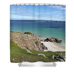 Shower Curtain featuring the photograph Durness - Scotland by Pat Speirs