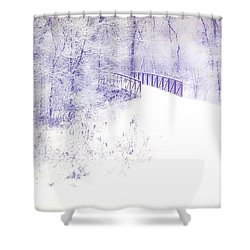 Dusted Shower Curtain
