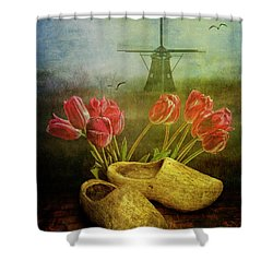 Dutch Heritage Shower Curtain