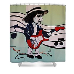 Dylan Shower Curtain by Rob Hans