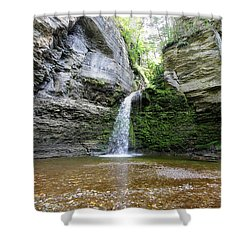 Eagle Cliff Falls In Ny Shower Curtain