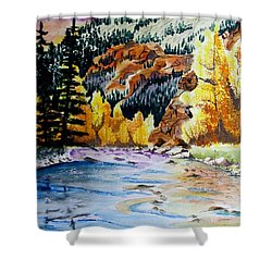 East Clear Creek Shower Curtain