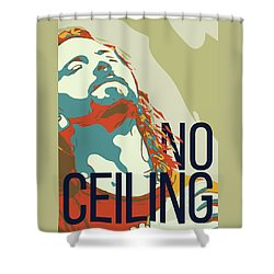 Eddie Vedder Shower Curtain by Greatom London