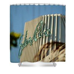 Eden Roc Hotel Miami Beach Shower Curtain