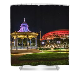 Elder Park Elegance Shower Curtain by Ray Warren