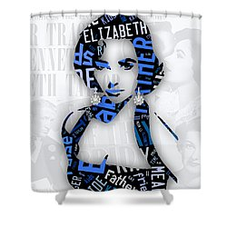 Elizabeth Taylor Father Of The Bride Movie Quotes Shower Curtain