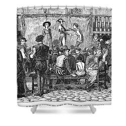 Elizabethan Theatre Shower Curtain by Granger