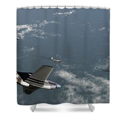 Engagement Party Shower Curtain