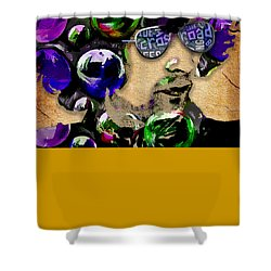 Eric Clapton Cream Collection Shower Curtain by Marvin Blaine