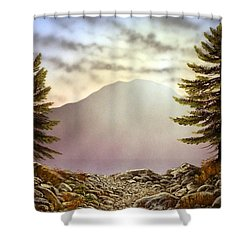 Evening Trail Shower Curtain