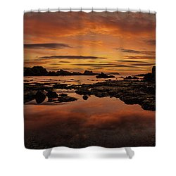 Evenings End Shower Curtain by Roy McPeak