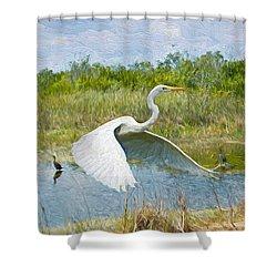 Everglades Impressions Shower Curtain