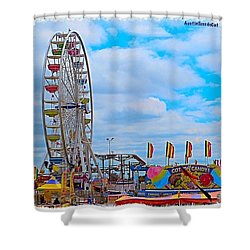 #exploring The #austin, #texas #rodeo Shower Curtain