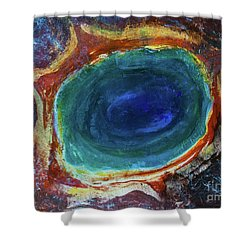 Eye Into The Earth Shower Curtain