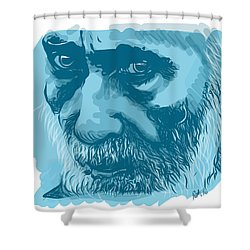 Eyes Shower Curtain by Antonio Romero