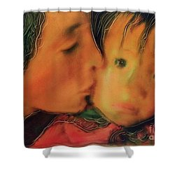 Faces Of Hope Nepal Shower Curtain