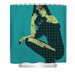 Fading Memories - The Golden Days No.2 Shower Curtain by Serge Averbukh