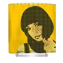 Fading Memories - The Golden Days No.3 Shower Curtain by Serge Averbukh