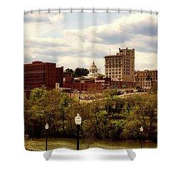 Fairmont West Virginia Shower Curtain by L O C