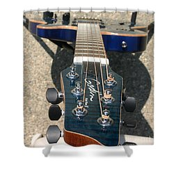 Shower Curtain featuring the photograph Fall Melody by Marie Neder