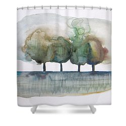Family Trees Shower Curtain