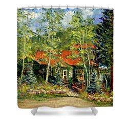 Fawnbrook Inn Shower Curtain