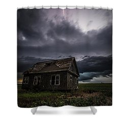 Shower Curtain featuring the photograph Fear by Aaron J Groen