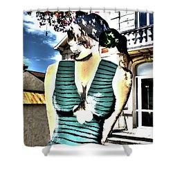 Fete-soulac-1900_32 Shower Curtain