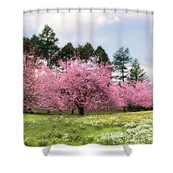 Field Of Dreams Shower Curtain by Jessica Jenney