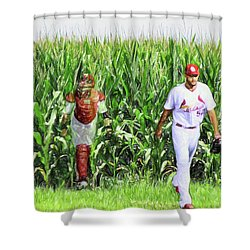 Field To Field Shower Curtain