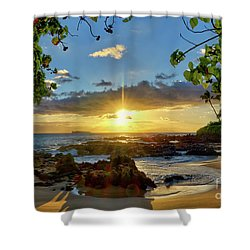 Find Your Beach Shower Curtain