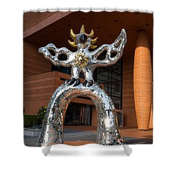 Firebird Shower Curtain