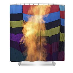 Firing Up Shower Curtain