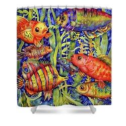 Fish Tales IIi Shower Curtain