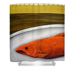 Fishy Fish Ll Shower Curtain