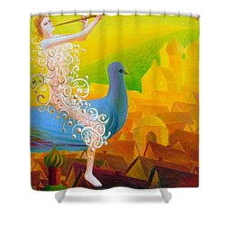Flight Of The Soul Shower Curtain