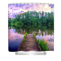 Flint Creek Shower Curtain
