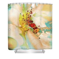 Flor Shower Curtain