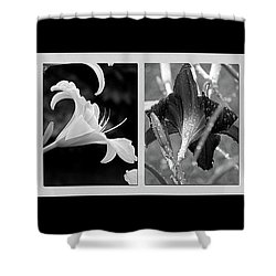 Floral Collage Shower Curtain by Sue Stefanowicz