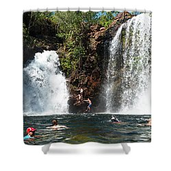 Florence Falls Shower Curtain
