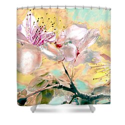 Flores De Primavera Shower Curtain