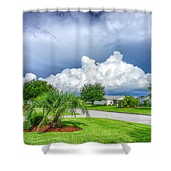 Florida Sky Shower Curtain
