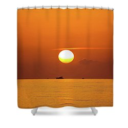 Florida Sunrise Shower Curtain